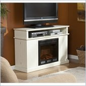 Holly & Martin Fenton Media Electric Fireplace in Ivory