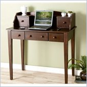 Holly & Martin Finn Computer Desk in Espresso