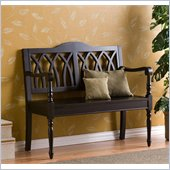 Holly & Martin Fraser Bench in Distressed Antique Black
