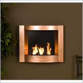 Holly & Martin Hallston Wall Mount Fireplace in Copper