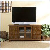 Holly & Martin Hamilton Media Stand in Brown Mahogany