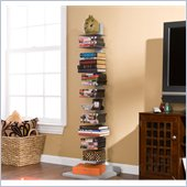 Holly & Martin Heights Book Tower in Painted Silver