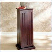 Holly & Martin Hewitt Media Storage Pedestal in Cherry