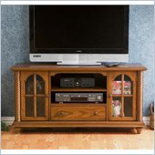 Holly & Martin Highbanks Media Stand in Antique Oak