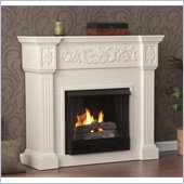 Holly & Martin Huntington Gel Fireplace in Ivory