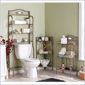 Holly & Martin Isabella Bath Storage Collection in Pewter/Gun Metal