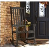 Holly & Martin Jameson Porch Rocker in Black