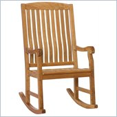 Holly & Martin Lambert Porch Rocker in Natural