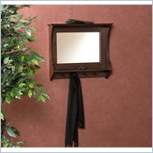 Holly & Martin MacKenzie Entry Mirror in Rich Espresso