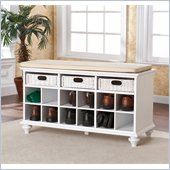 Holly & Martin MacKenzie Entryway Bench in White