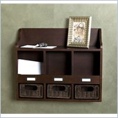 Holly & Martin MacKenzie Wall Storage Unit in Rich Espresso