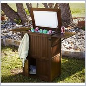 Holly & Martin Parsons Ice Box/Cooler in Dark Brown