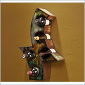 Holly & Martin Paso Robles Multi-Colored Wall Mount Wine Storage