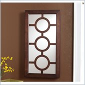 Holly & Martin Peyton Wall-Mount Jewelry Mirror in Espresso