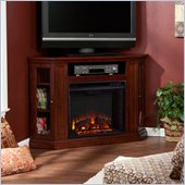 Holly & Martin Ponoma Convertible Media Electric Fireplace in Cherry