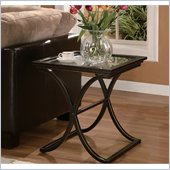 Holly & Martin Roxburgh End Table in Black