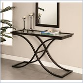 Holly & Martin Roxburgh Sofa Table in Black