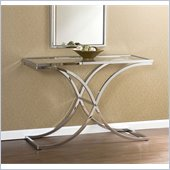Holly & Martin Roxburgh Sofa Table in Chrome