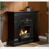 Holly & Martin Salerno Gel Fireplace in Black