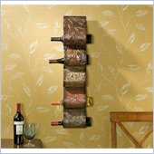 Holly & Martin Salinas Wall Mount Wine Rack Sculpture