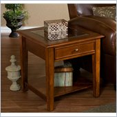 Holly & Martin Somerset End Table in Walnut