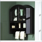 Holly & Martin Sophie Top Wall Cabinet in Black