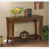Holly & Martin Suffolk Slate Sofa Table in Brown Cherry