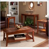 Holly & Martin Suffolk Table Collection in Brown Cherry