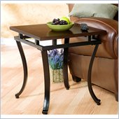 Holly & Martin Surrey End Table in Rich Espresso