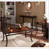 Holly & Martin Surrey Table Collection in Rich Espresso