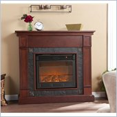 Holly & Martin Tavola Electric Fireplace in Cherry