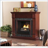 Holly & Martin Tavola Gel Fireplace in Cherry