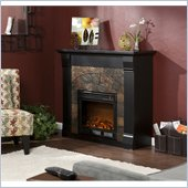 Holly & Martin Underwood Electric Fireplace in Black