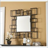 Holly & Martin Vallejo Wall Mirror in Textured Espresso