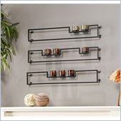 Holly & Martin Vallejo Wall Mount Candelabra in Mercury Inspired