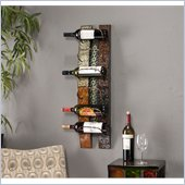 Holly & Martin Ventura Multi-Colored Wall Mount Wine Storage