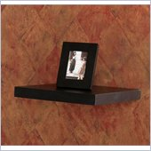 Holly & Martin Vicksburg Floating Shelf 10 in Black