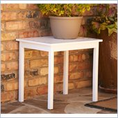 Holly & Martin Warren End Table in White