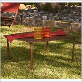 Holly & Martin Wilson Picnic Table In-a-Bag in Dark Brown Wood
