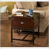 Holly & Martin Yorkshire Storage End Table in Espresso