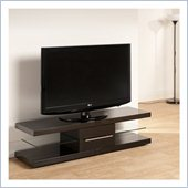 Techlink Echo TV stand  Black with contrasting detailing