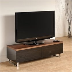 Tech Link Panorama 55 TV Stand in Walnut/Black