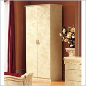 camelgroup Barocco 2 Door Wardrobe in Ivory