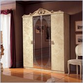 camelgroup Barocco 4 Door Wardrobe in Ivory