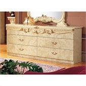 camelgroup Barocco Double Dresser in Ivory