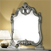 camelgroup Barocco Mirror in Silver