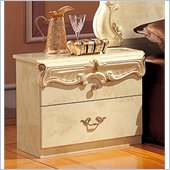 camelgroup Barocco Nightstand in Ivory