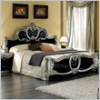 ADD TO YOUR SET: camelgroup Barocco Bed in Black w/Silver