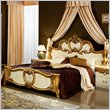 ADD TO YOUR SET: camelgroup Barocco Bed in Ivory w/Gold