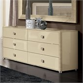 camelgroup LaStar Double Dresser in Ivory